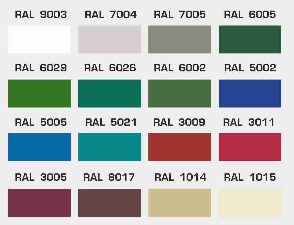 Рал 6002 какой цвет фото